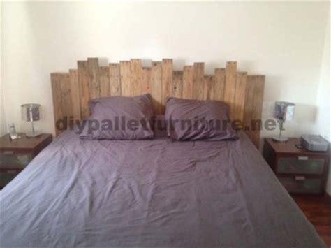 matratze für palettenbett bett rustikal