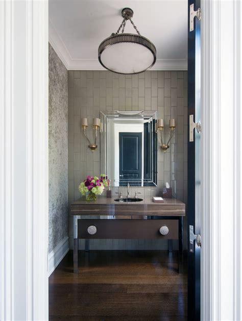ct residence modern powder room new york by susan greenwich georgian style home