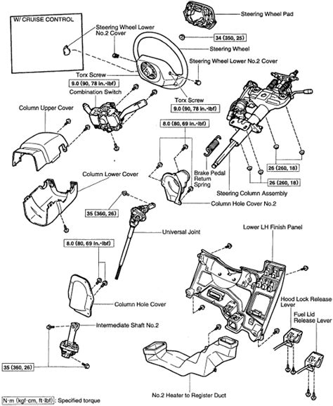 Toyota Steering Column Toyota Oem Parts Diagram Steering Column Toyota Free