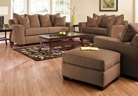 chocolate sofa set klaussner sofa set microsuede chocolate kl