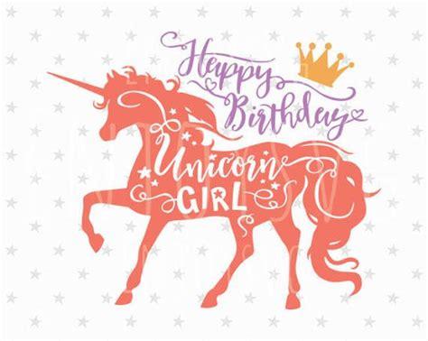 imagenes que digan unicornio unicornio feliz cumplea 241 os svg svg chica de unicornio svg