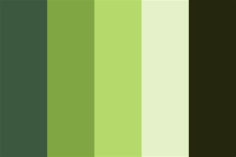bamboo color bamboo forest color palette