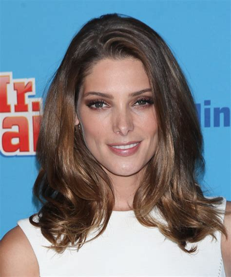 ashley greene medium length hairstyles 2014 straight hair ashley greene medium straight casual hairstyle medium