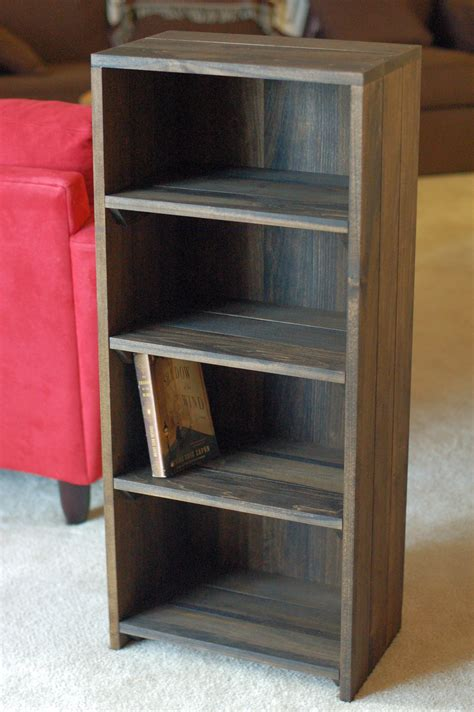 woodwork bookshelves pdf plans