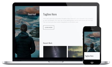 blog theme meaning journal photography theme for wordpress