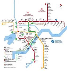 Latest Hangzhou Metro Map Traveling Hangzhou Expat