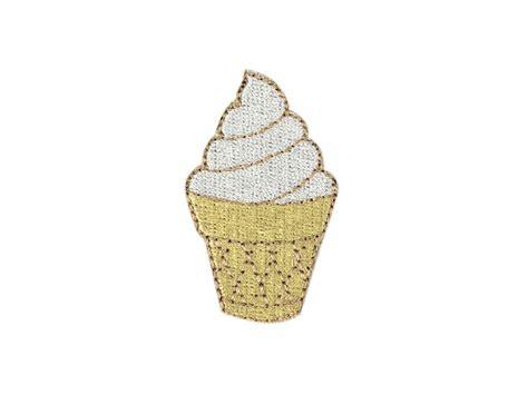 ice cream emoji soft ice cream emoji embroidered patch ebay