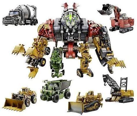 Mainan Robot Transformers Armada mega transformer constructicon devastator da hasbro 171