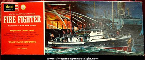 toy boat unique new york large 169 1962 new york harbor fire fighter boat revell model