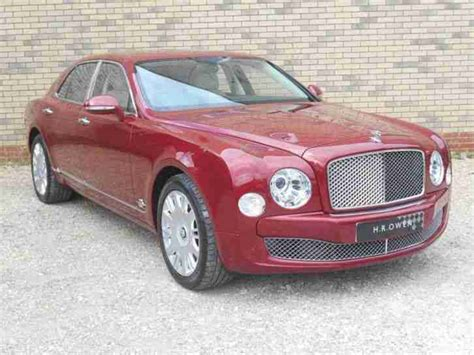 red bentley mulsanne bentley 2011 mulsanne v8 petrol red automatic car for sale