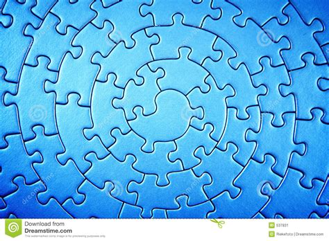 complete jigsaw wide angle in infrared colors stock image