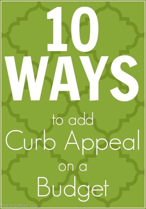 17 best images about curb appeal on home - Adding Curb Appeal On A Budget