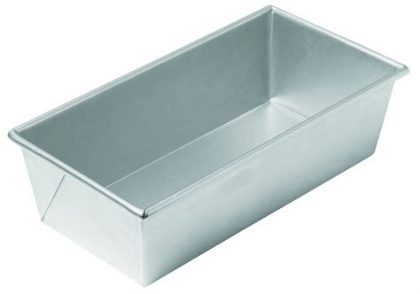 chicago pound chicago metallic commercial ii traditional uncoated 1 1 2 pound loaf pan betty s