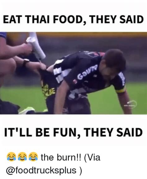 Thai Food Meme - 25 best memes about it ll be fun they said it ll be fun
