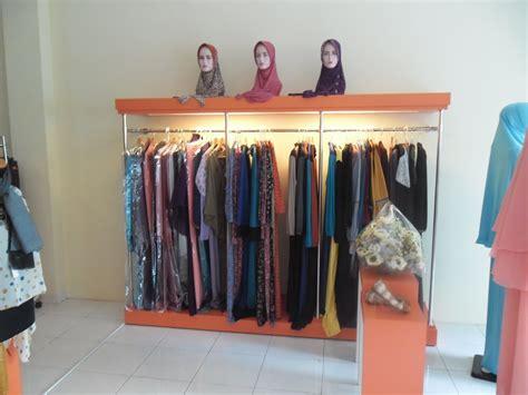 gambar layout toko baju jual etalase pakaian muslim rak etalase tokopedia