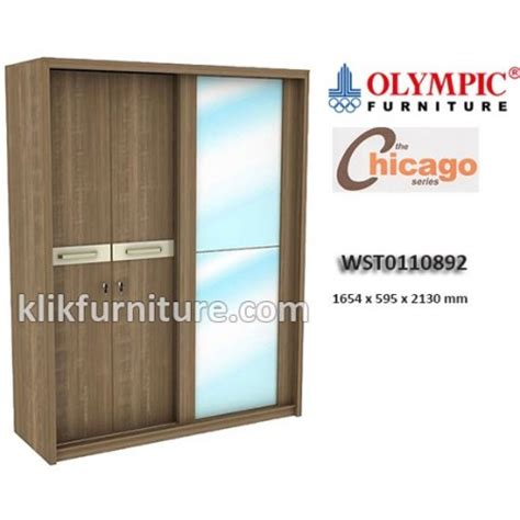 Lemari Sliding Olympic harga kitchen set olympic furniture