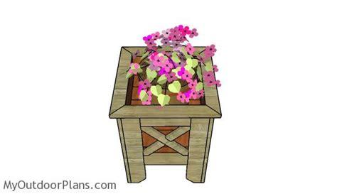 Square Wooden Planter Box Plans by Square Planter Box Plans Myoutdoorplans Free