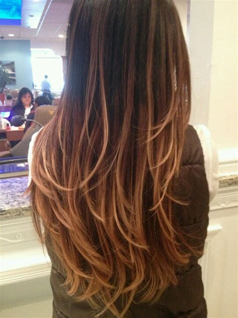 honey brown hair with blonde ombre ombre hair color rich dark brown milk chocolate brown
