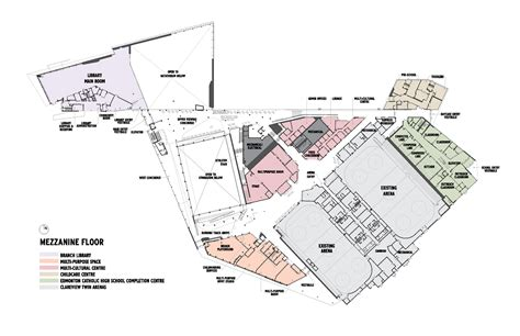 modern day marine floor plan clareview community recreation centre teeple architects