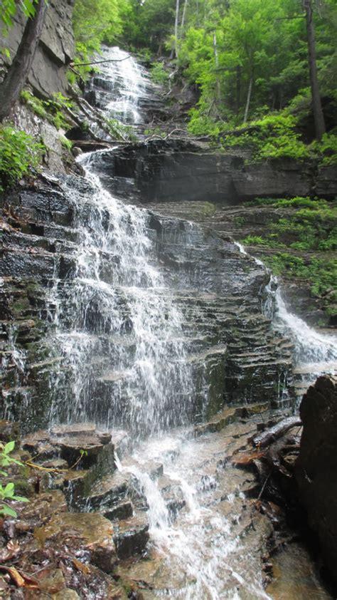 waterfalls  explore  spring   albany