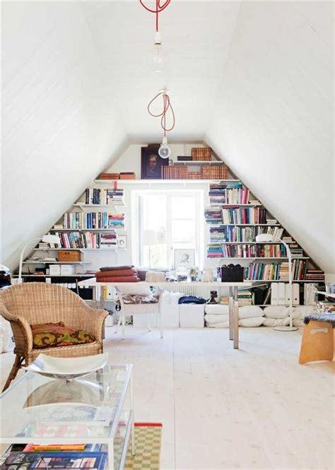 home inspirations 30 cozy attic home office design ideas