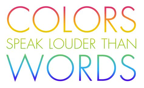 color sayings color quotes quotesgram