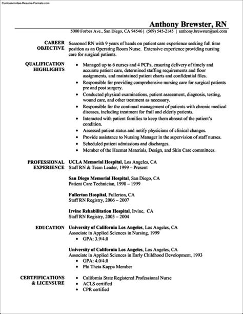 example basic resume graduate nurse resume example basic resumes