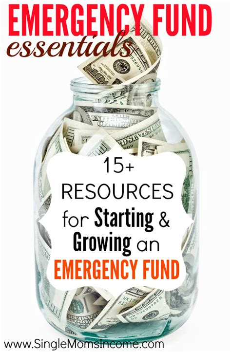 emergency fund essentials 15 resources for starting and