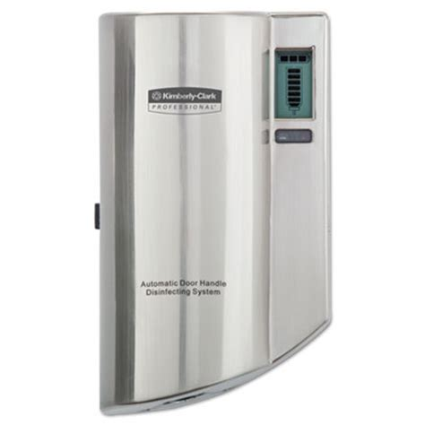 Dispenser Electronic City clark professional automatic door handle disinfectant dispenser salt lake city utah