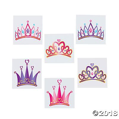 princess tiara tattoo princess tiara assortment