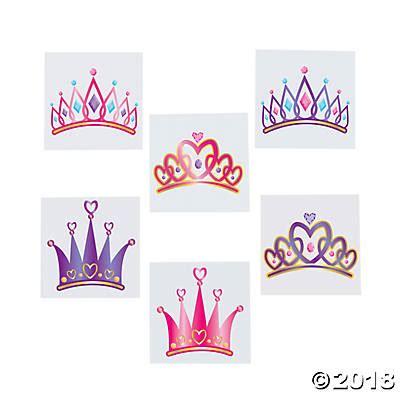princess tiara tattoo princess tiara assortment