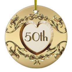 anniversary ornaments 50th anniversary or 50th birthday ornament ornaments