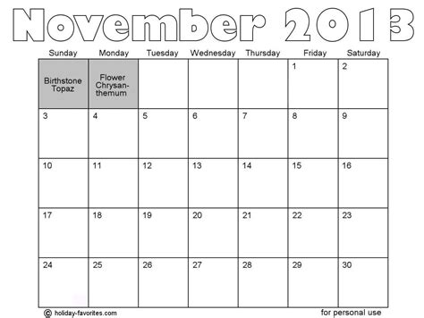 blank calendar template november 2013 search results for 2013 calendar months free page 2