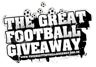 Great Giveaway Football - the great football giveaway blog 187 football charity