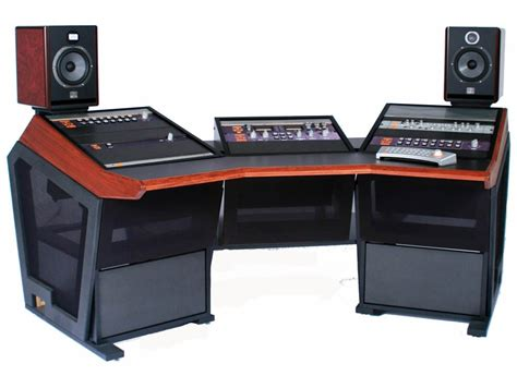studio console desk studio console desk building plans images