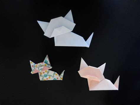 Origami Chat - origami chat facile easy cat origami origami