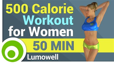 500 calorie workout for