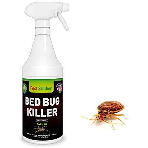 organic bed bug spray bed bug killer natural organic formula fastest 16 oz by