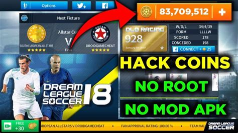 game mod apk without root how to hack dream league soccer 2018 unlimited coins ios
