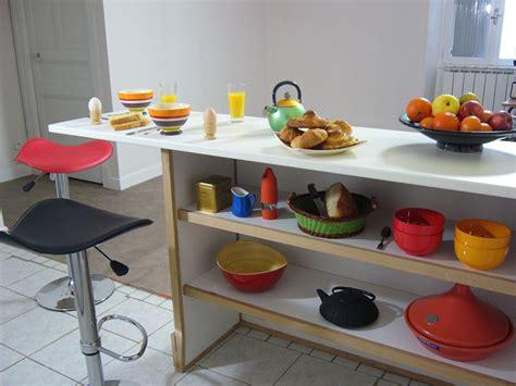 comptoir separation cuisine cuisine en image