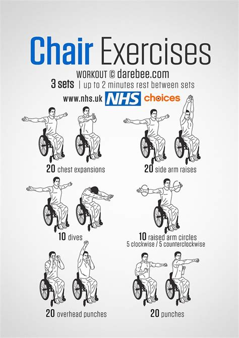 best 25 chair exercises ideas on reducing