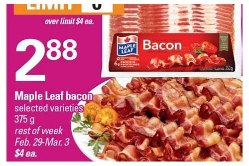 maple leaf bacon coupons 2018