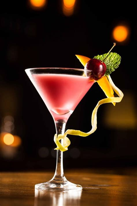 martinis martini vodka cran ginger cocktail recipe dishmaps