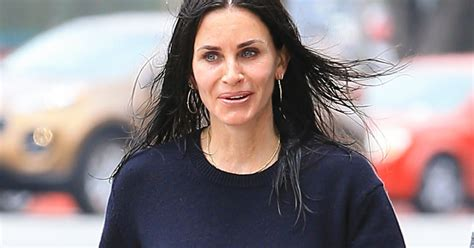 Courney Cox Gets by Courteney Cox Stopped Getting Fillers Says She Wants To