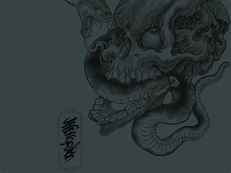skull wallpaper abyss skull wallpaper and background image 1600x1200 id 336834