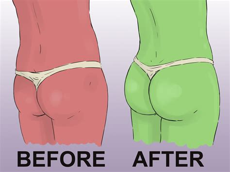 how to make your butt bigger 3 ways to make your butt bigger wikihow