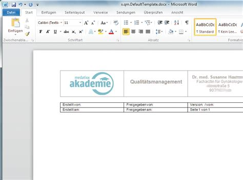Software Design Dokument Vorlage medatixx zusatzl 246 sung x qm qualit 228 tsmanagement