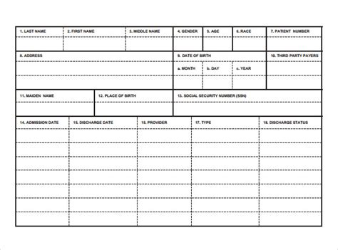 9 index card templates for free sle templates