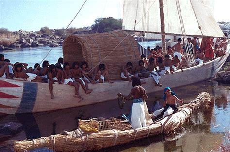 ancient egypt boats and transportation egyptian civilization daily life transportation