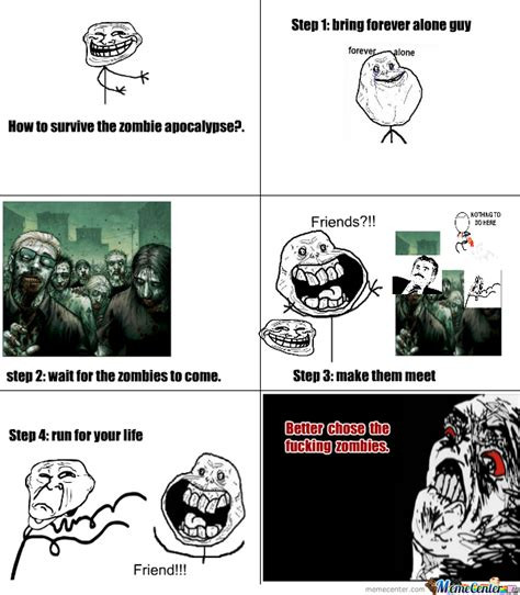 Apocalypse Meme - zombie apocalypse by recyclebin meme center